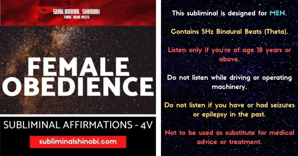 female obedience
