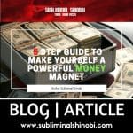 5 step guide to make yourself a powerful money magnet thumbnail