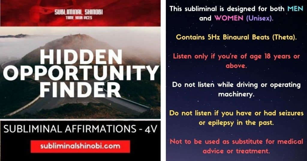 hidden opportunity finder